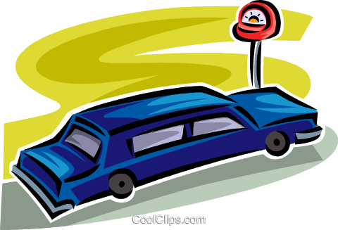 limousine Royalty Free Vector Clip Art illustration vc063826