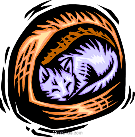 Cats Royalty Free Vector Clip Art illustration vc063868