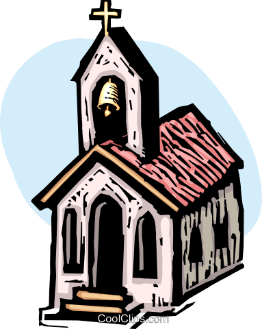 Churches Royalty Free Vector Clip Art illustration vc063890