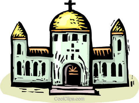 Churches Royalty Free Vector Clip Art illustration vc063893