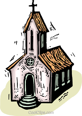 Churches Royalty Free Vector Clip Art illustration vc063896