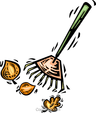 Rakes Royalty Free Vector Clip Art illustration vc063946