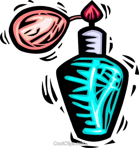 perfume Royalty Free Vector Clip Art illustration vc063959