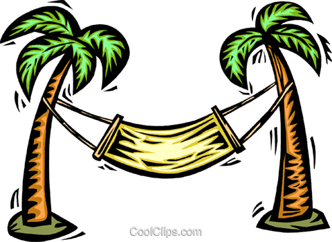 Deck Chairs and Beach Equipment Royalty Free Vector Clip Art illustration vc063980