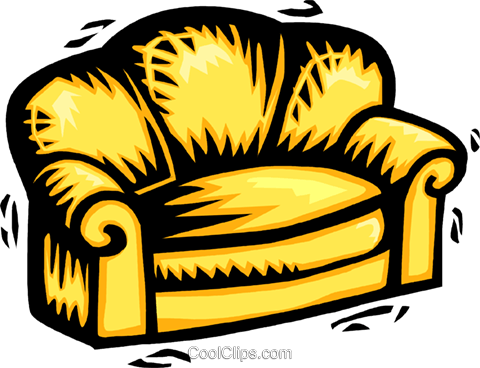 chesterfield Royalty Free Vector Clip Art illustration vc063989