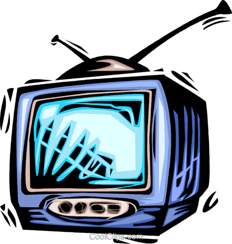Televisions Royalty Free Vector Clip Art illustration vc064028