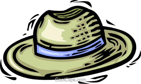 hat Royalty Free Vector Clip Art illustration vc064086
