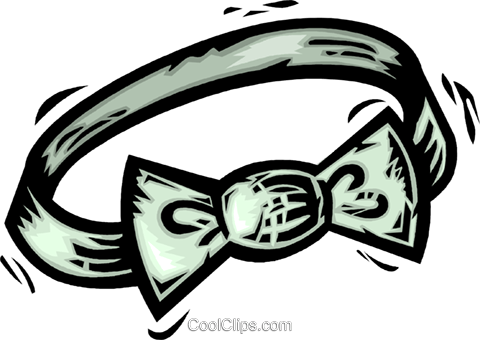 bow tie Royalty Free Vector Clip Art illustration vc064121