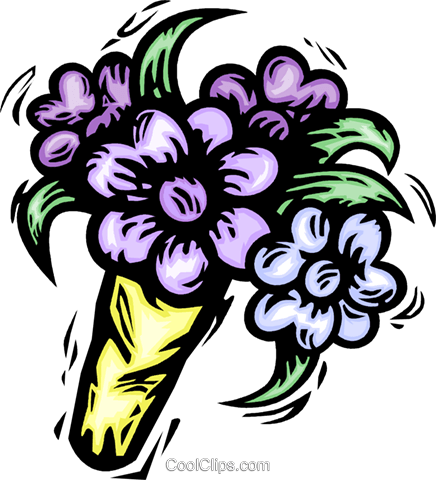 flowers Royalty Free Vector Clip Art illustration vc064161