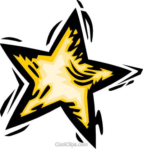 star Royalty Free Vector Clip Art illustration vc064176