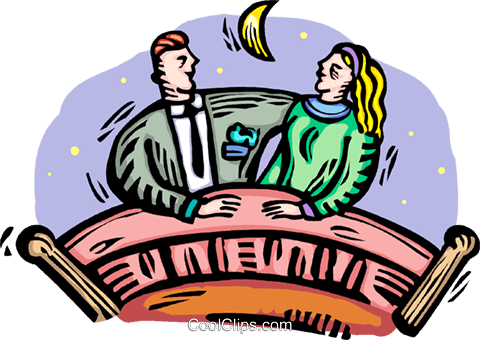 couple Royalty Free Vector Clip Art illustration vc064393