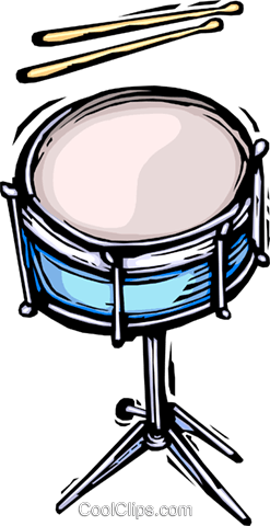 drums Royalty Free Vector Clip Art illustration vc064420