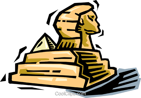 sphinx royalty free vector clip art illustration vc064477 coolclips com rh search coolclips com egyptian sphinx clipart sphinx clipart images