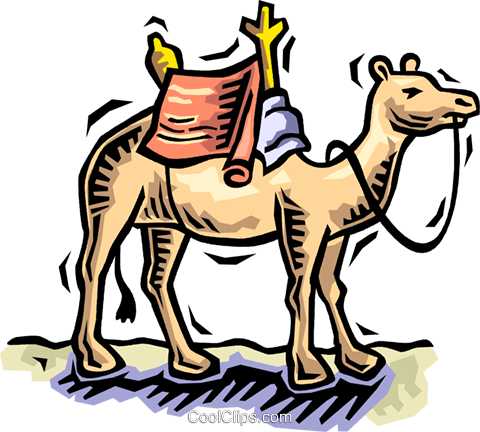 camel Royalty Free Vector Clip Art illustration vc064507