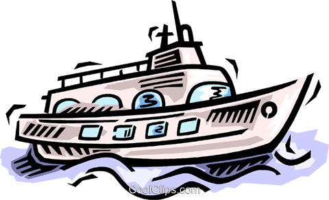 ship Royalty Free Vector Clip Art illustration vc064531