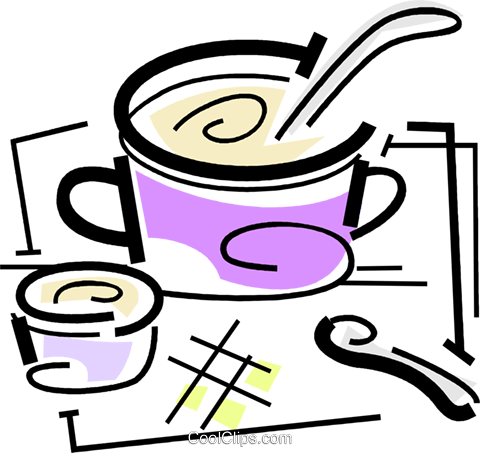 Pots and Pans Royalty Free Vector Clip Art illustration vc064699