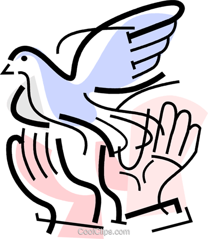 dove Royalty Free Vector Clip Art illustration vc064724