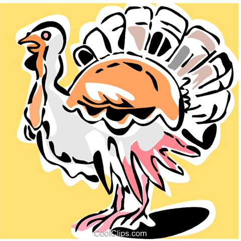 turkey Royalty Free Vector Clip Art illustration vc064894