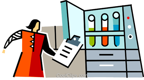 woman with clipboard Royalty Free Vector Clip Art illustration vc064931