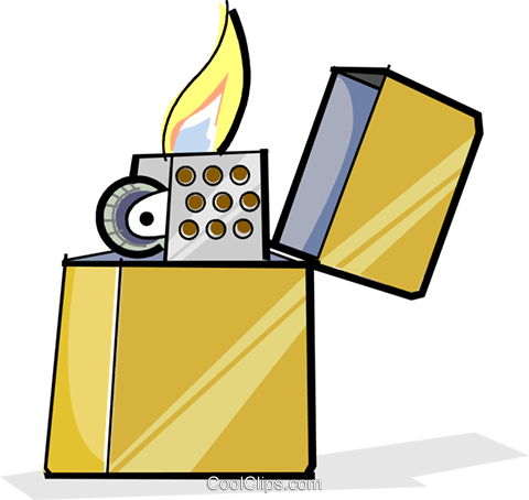 lighter Royalty Free Vector Clip Art illustration vc065104