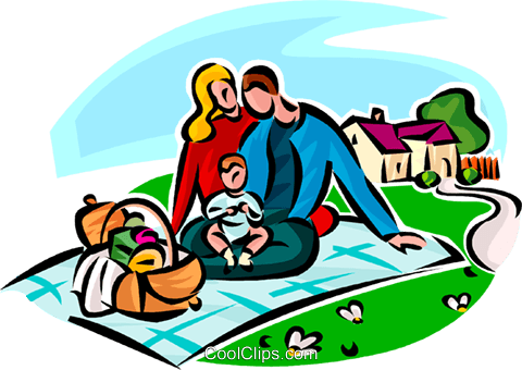 family picnic royalty free vector clip art illustration vc065146 rh search coolclips com free picnic clipart and borders free picnic clipart vector