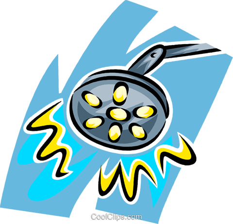 surgical lights Royalty Free Vector Clip Art illustration vc065258