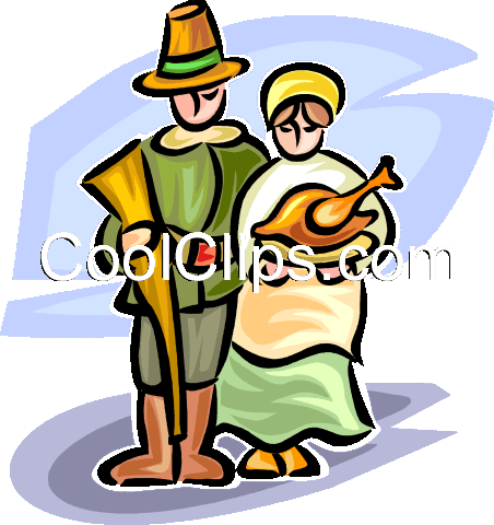 pioneers Royalty Free Vector Clip Art illustration vc065312