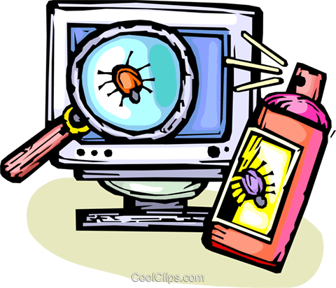 computer virus royalty free vector clip art illustration vc065445 rh search coolclips com