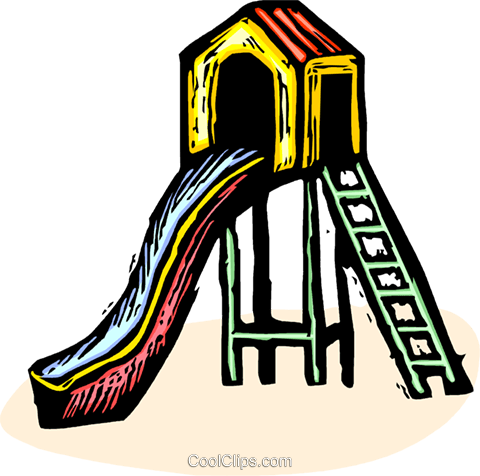 playhouse Royalty Free Vector Clip Art illustration vc065552