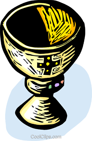 Chalice Royalty Free Vector Clip Art illustration vc065603