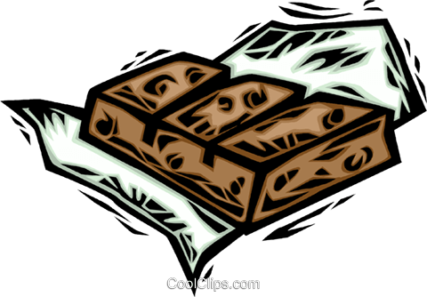 chocolate Royalty Free Vector Clip Art illustration vc065683