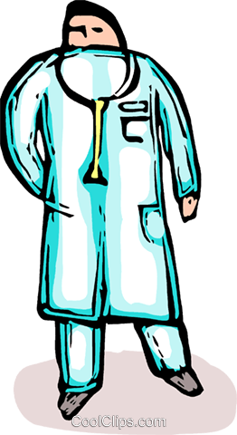 doctor Royalty Free Vector Clip Art illustration vc065691