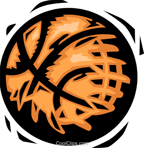 basketball Royalty Free Vector Clip Art illustration vc065790