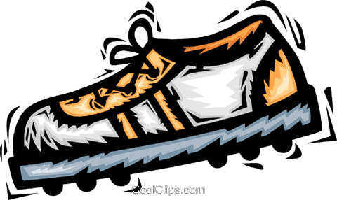 cleat Royalty Free Vector Clip Art illustration vc065795