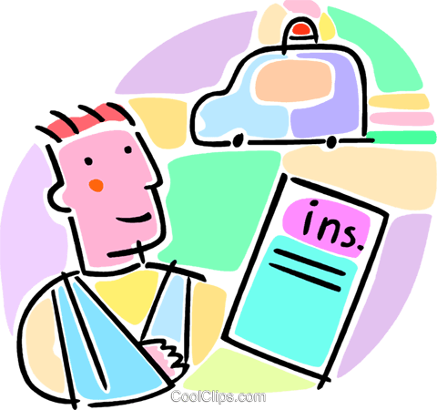 health insurance concept Royalty Free Vector Clip Art illustration vc065987