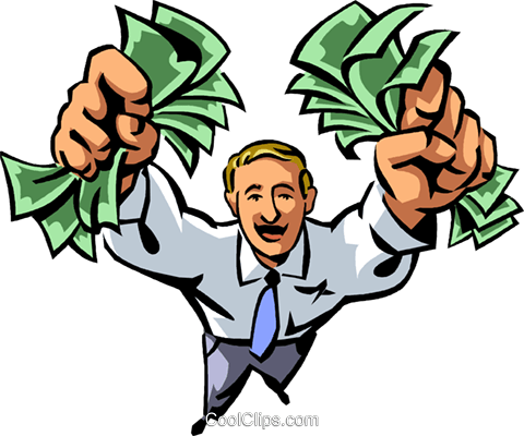 Dollars Royalty Free Vector Clip Art illustration vc066153