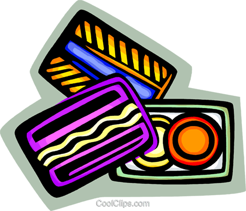 credit cards Royalty Free Vector Clip Art illustration vc068000