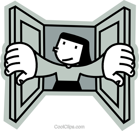 Windows Royalty Free Vector Clip Art illustration vc068220