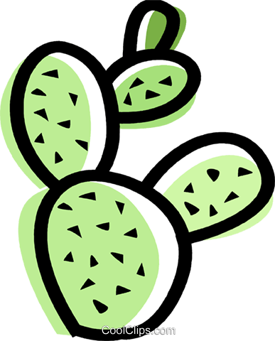 Cactus Royalty Free Vector Clip Art illustration vc068627
