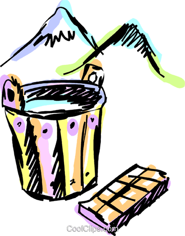 Buckets and Pails Royalty Free Vector Clip Art illustration vc069902