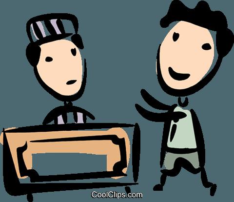 法院 免版税矢量剪贴画插图