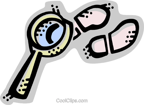 Investigation and Research Royalty Free Vector Clip Art illustration vc071660