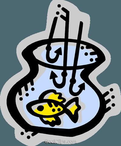 鱼 免版税矢量剪贴画插图