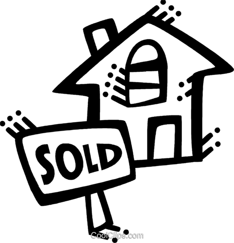 Real Estate Royalty Free Vector Clip Art illustration vc071843