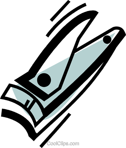 Nail Clippers Royalty Free Vector Clip Art Illustration Vc072618