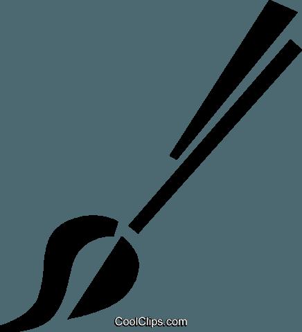 Pinsel clipart schwarz weiß  Farbe und Pinsel Vektor Clipart Bild -vc073574-CoolCLIPS.com