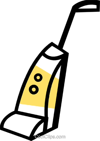 Vacuum Cleaners Royalty Free Vector Clip Art illustration vc074027