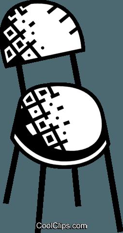 椅子 免版税矢量剪贴画插图