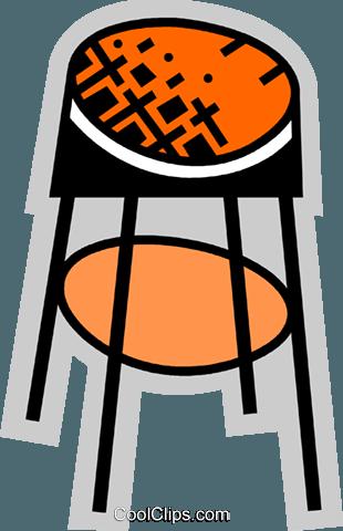 Bar hocker und b nke vektor clipart bild vc074961 for Bar und hocker