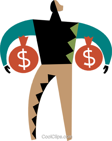 Financial Concepts Royalty Free Vector Clip Art illustration vc075341